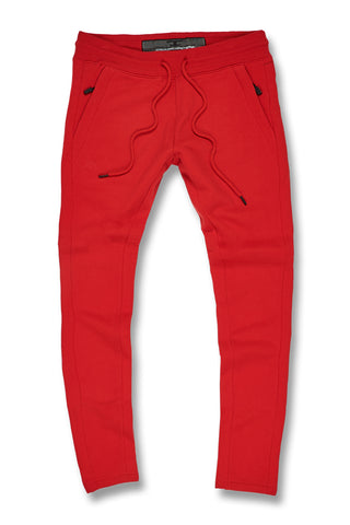 Jordan Craig - Big Men's Uptown Classic Sweatpants (Red)
