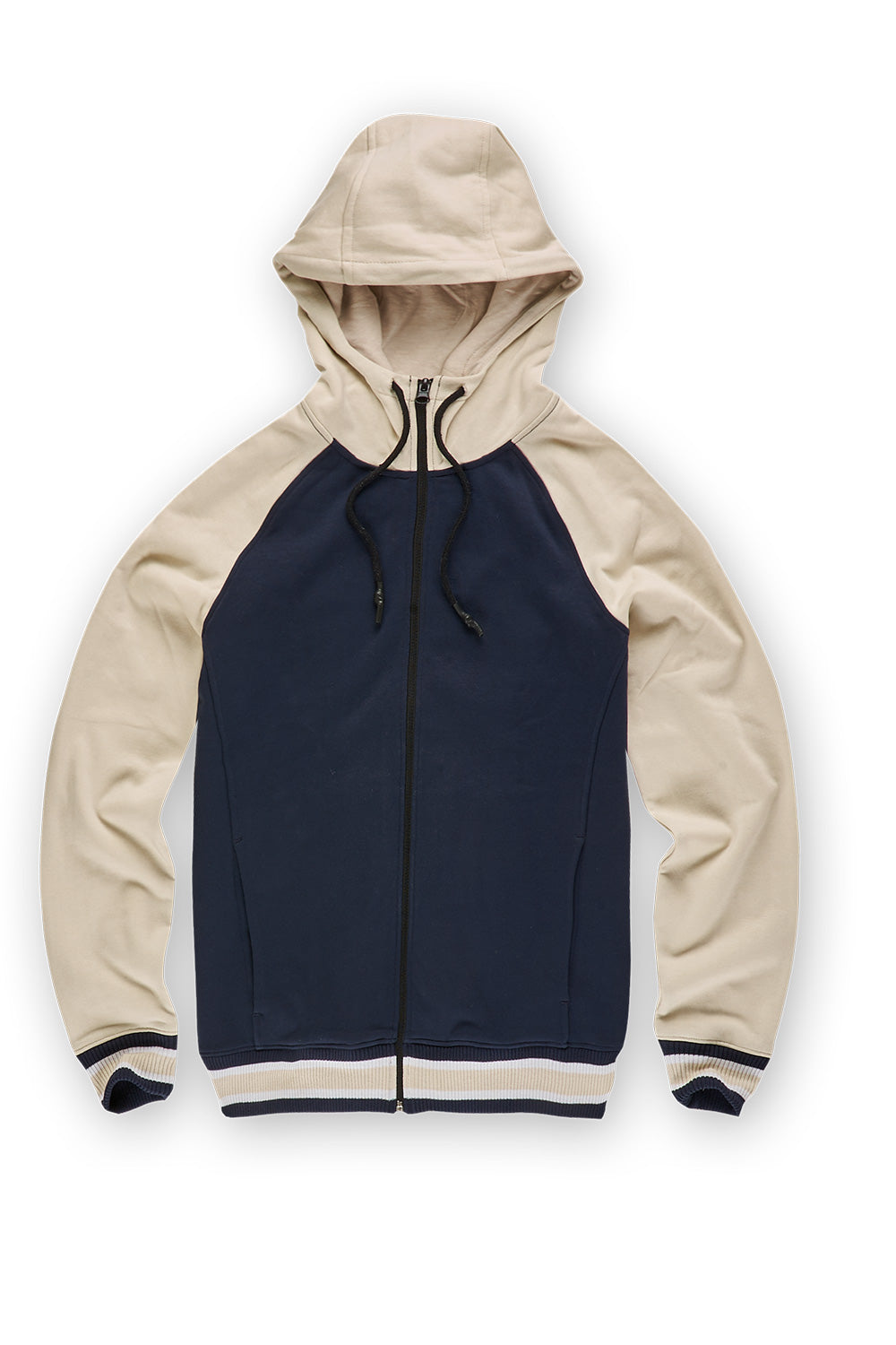 Jordan Craig - Fairfax Zip Up Hoodie (Bone)