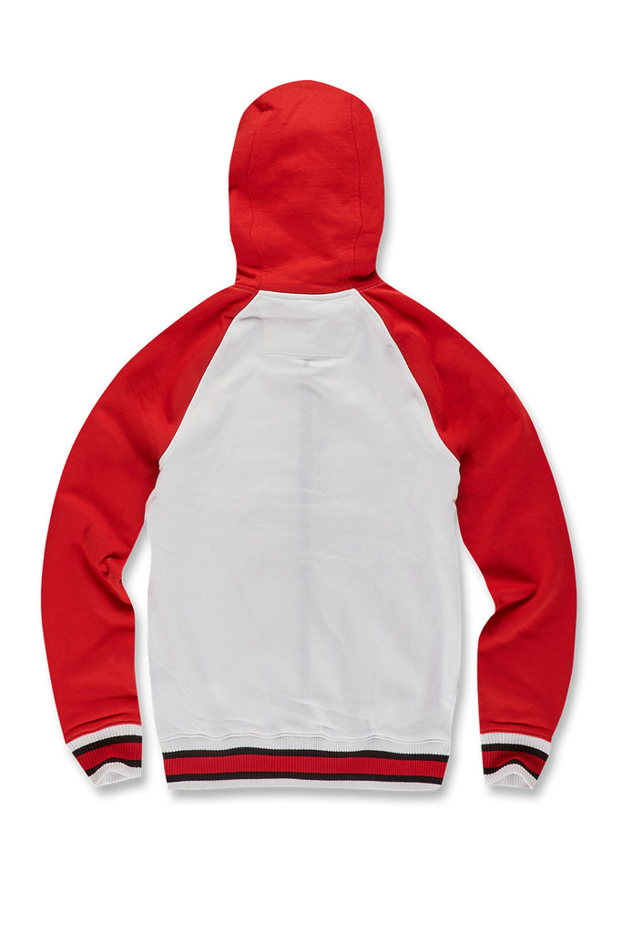 Jordan Craig - Fairfax Zip Up Hoodie (Red)