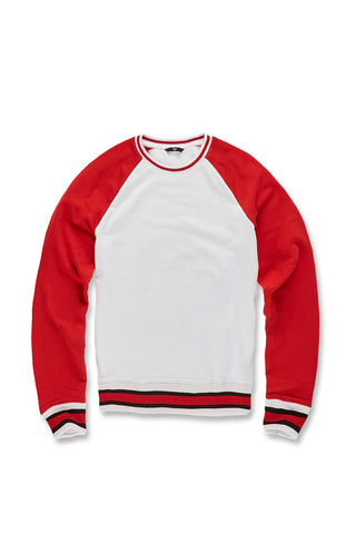Jordan Craig - Fairfax Crewneck Sweatshirt (Red)