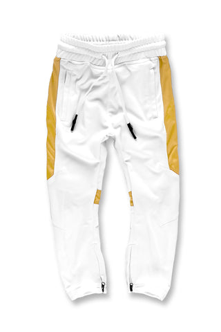 Kids Havana Track Pants (White Gold)