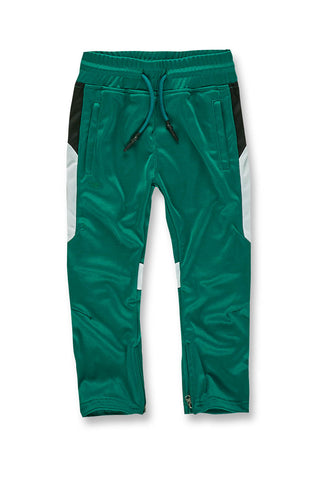 Jordan Craig - Kids Havana Track Pants (Money Green)