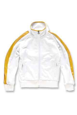 Kids Havana Track Jacket (White Gold)