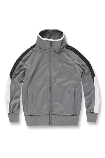 Kids Havana Track Jacket (Metallic Silver)