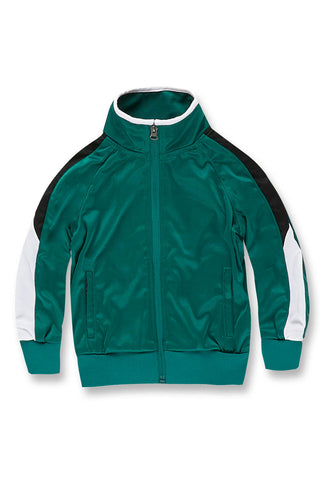 Jordan Craig - Kids Havana Track Jacket (Money Green)