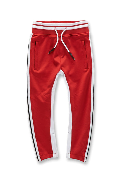 Kids Carson Track Pants (Red)