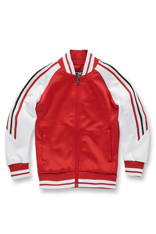 Jordan Craig - Kids Carson Track Jacket (Red)