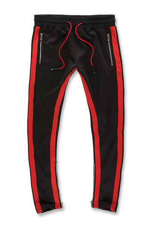 Jordan Craig - Oxford Track Pants (Black Infrared)