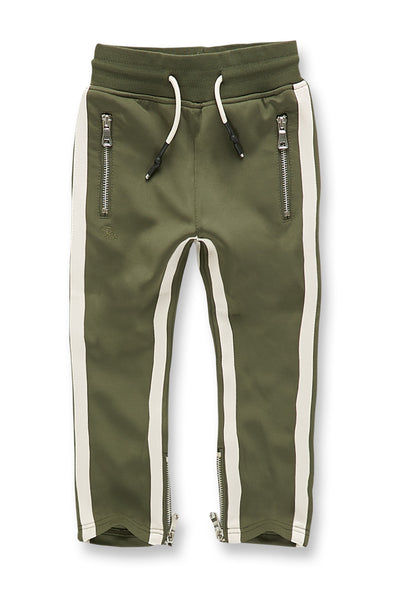 Kids Oxford Track Pants (Olive)