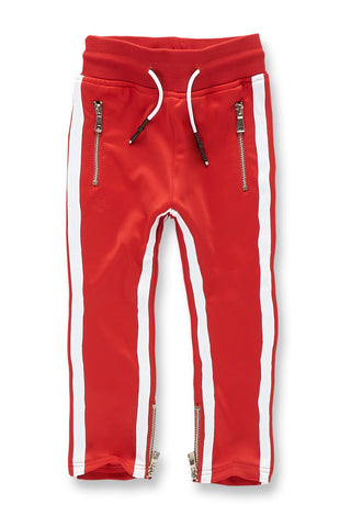 Kids Oxford Track Pants (Red)