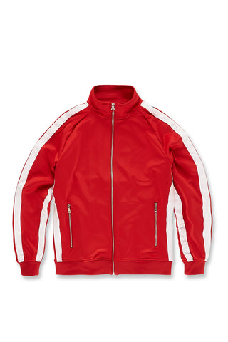 Oxford Track Top (University Red)