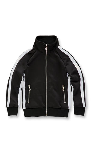Kids Oxford Track Top (Black)