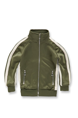 Kids Oxford Track Top (Olive)