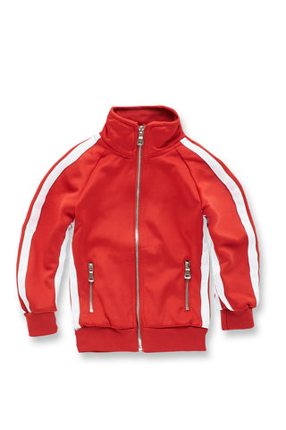 Kids Oxford Track Top (Red)