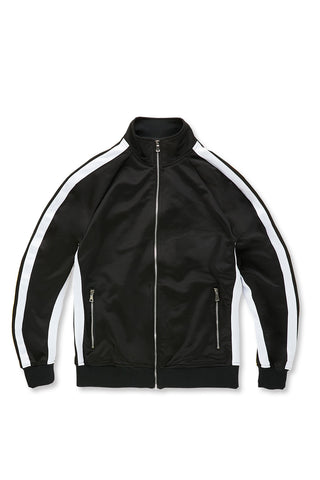 Jordan Craig - Oxford Track Top (Black)