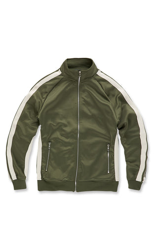 Oxford Track Top (Olive)