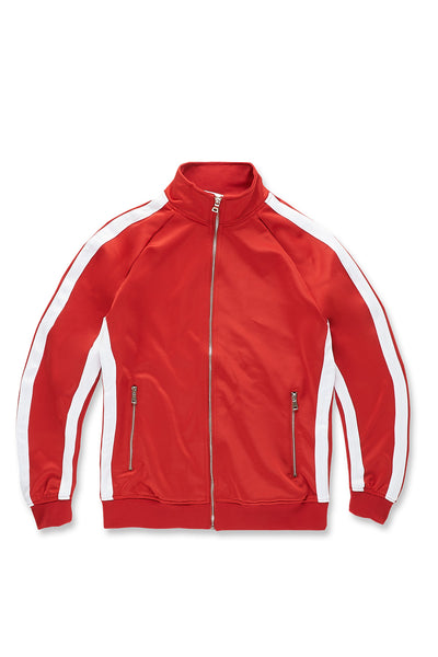 Oxford Track Top (Red)
