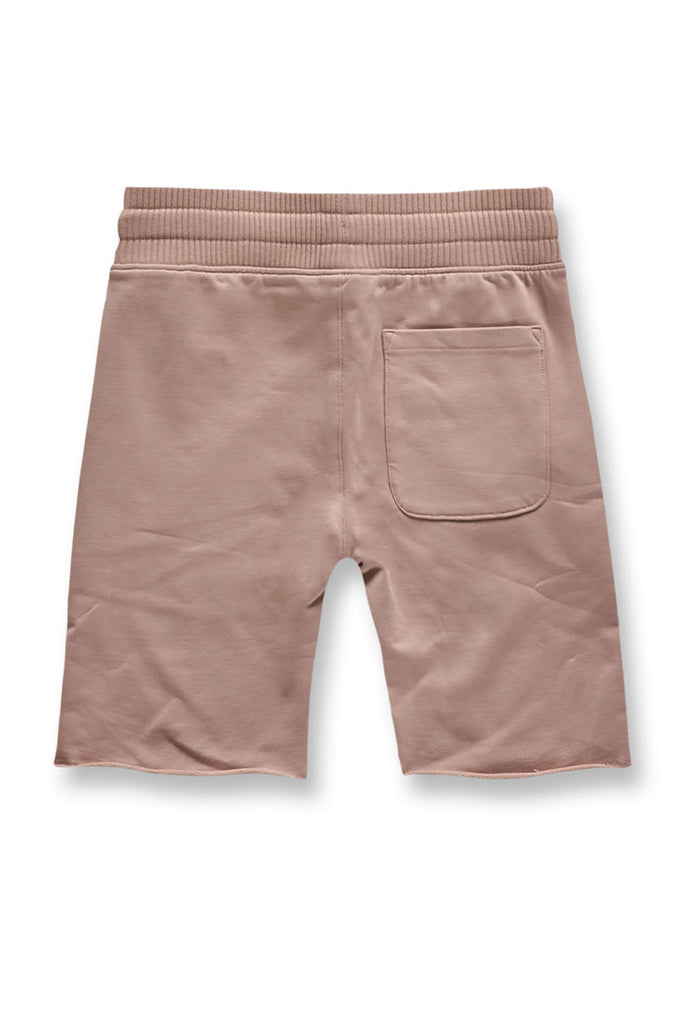 Jordan Craig - Kids Palma French Terry Shorts (Blush)