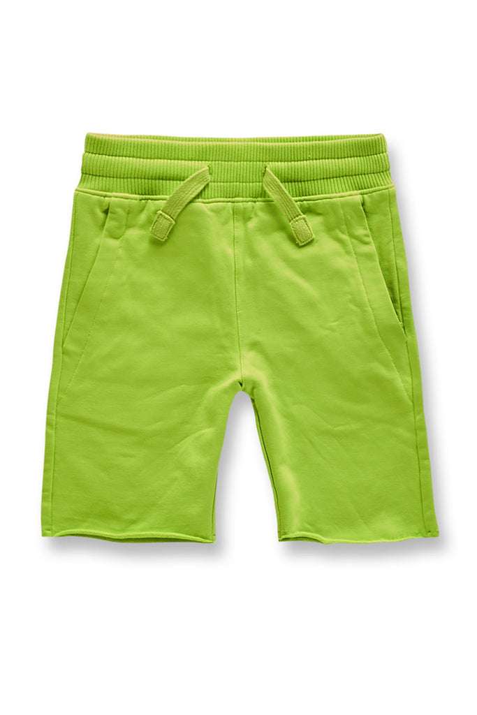 Kids Palma French Terry Shorts (Volt)