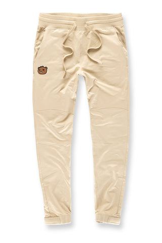 Jordan Craig - Plush Bear Jogger Sweatpants (Beige)