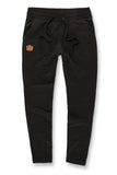 Plush Bear Jogger Sweatpants (Black)