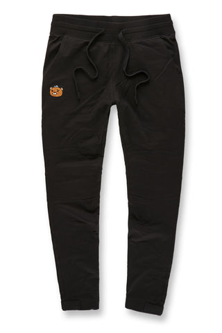 Jordan Craig - Plush Bear Jogger Sweatpants (Black)