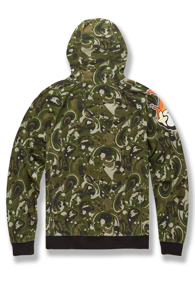 Plush Fuego Pullover Hoodie (Woodland)