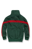 Jordan Craig - Kids Luciano Velour Top (Green)