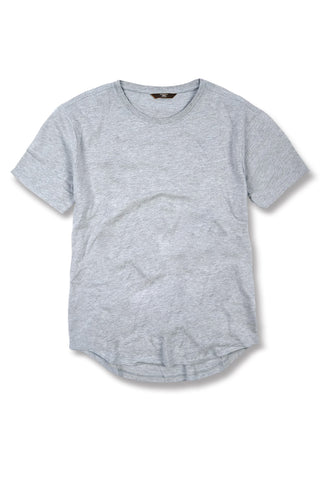 Jordan Craig - Kids Scallop T-Shirt (Heather Grey)