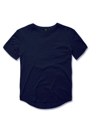 Jordan Craig - Kids Scallop T-Shirt (Navy)