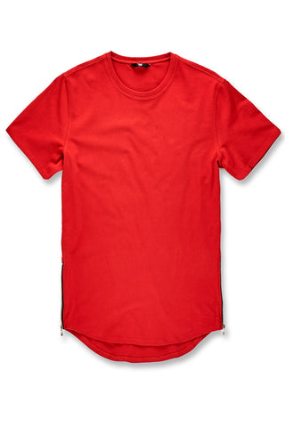 Thriller Scallop T-Shirt (Red)
