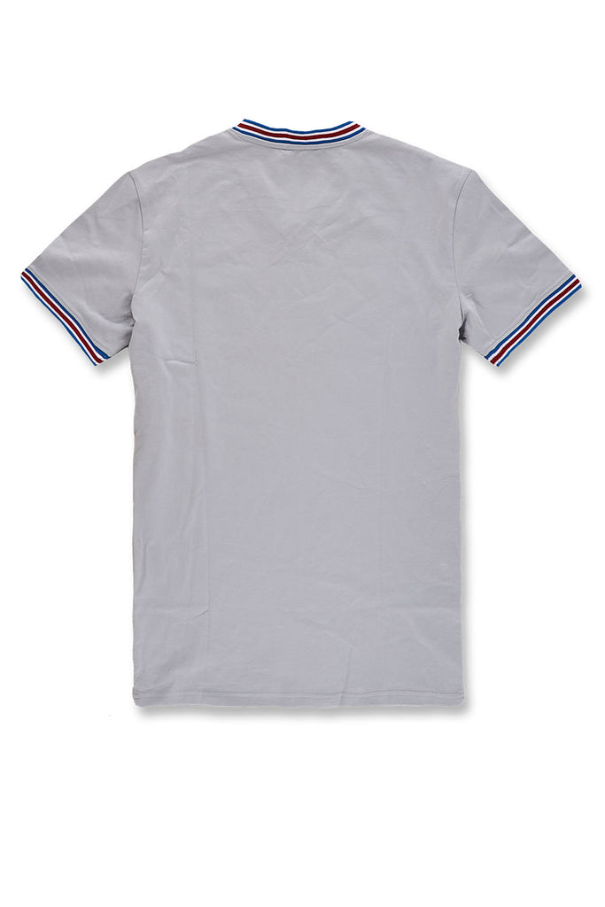 Jordan Craig - Delray Premium V-Neck T-Shirt (Light Grey)