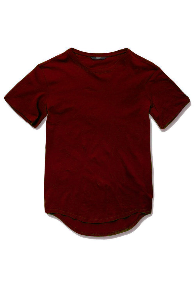 Kids Scallop T-Shirt (Wine)