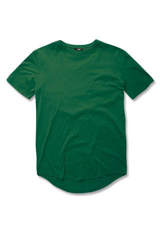 Jordan Craig - Kids Scallop T-Shirt (Money Green)