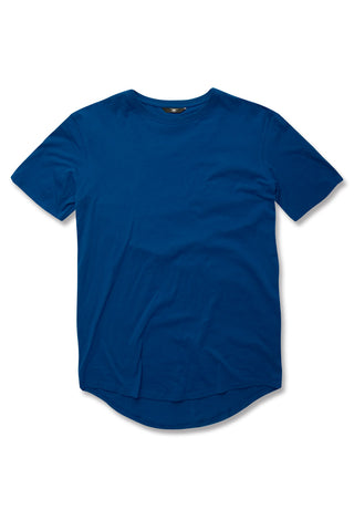 Kids Scallop T-Shirt (Royal)