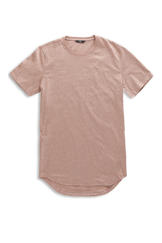 Jordan Craig - Melange Scallop T-Shirt (Autumn Blush)