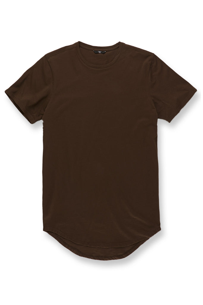 Jordan Craig - Big Men's Scallop T-Shirt (Brown)
