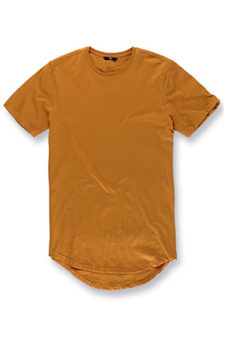 Jordan Craig - Big Men's Scallop T-Shirt (Cognac)