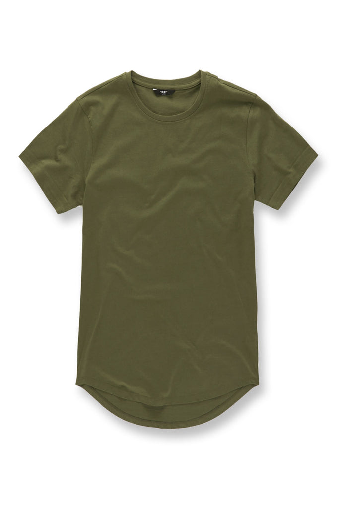 Jordan Craig - Big Men's Scallop T-Shirt (Army Green)