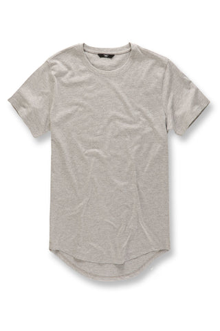 Jordan Craig - Big Men's Scallop T-Shirt (Heather Grey)