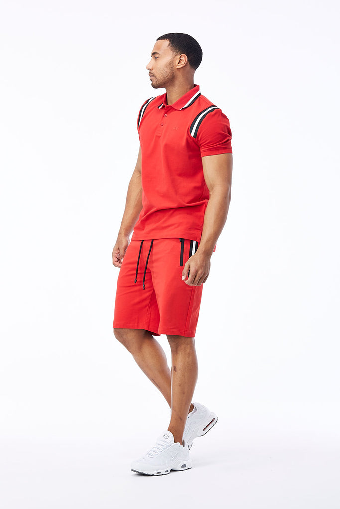 Jordan Craig - Montego Knit Shorts (Red)