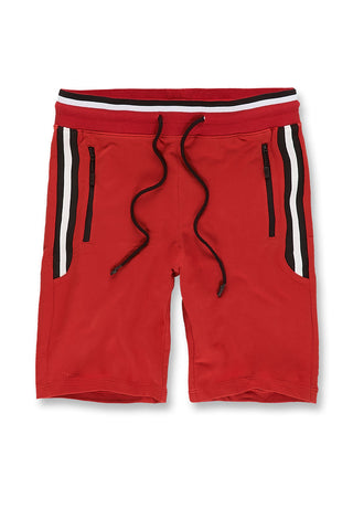 Montego Knit Shorts (Red)