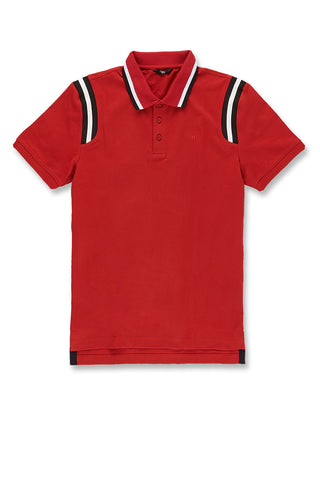 Jordan Craig - Montego Polo Shirt (Red)