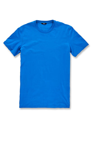 Premium Crewneck T-Shirt (Royal)