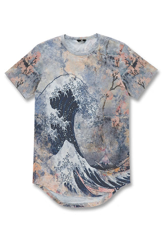 Jordan Craig - Fuji Scallop T-Shirt (Blue Wave)