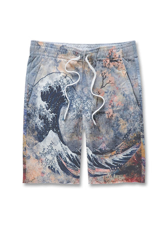 Jordan Craig - Fuji French Terry Shorts (Blue Wave)