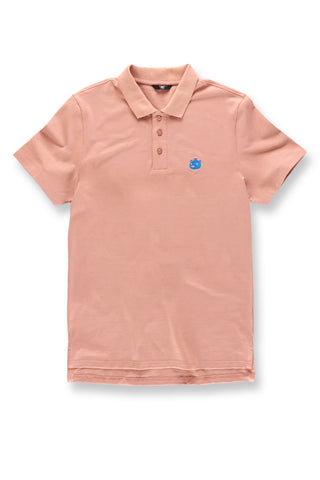 Plush Bear Polo Shirt (Coral)