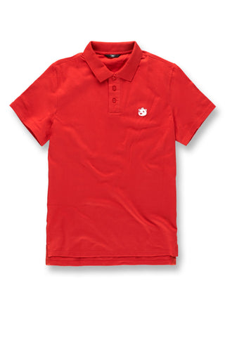 Plush Bear Polo Shirt (Red)