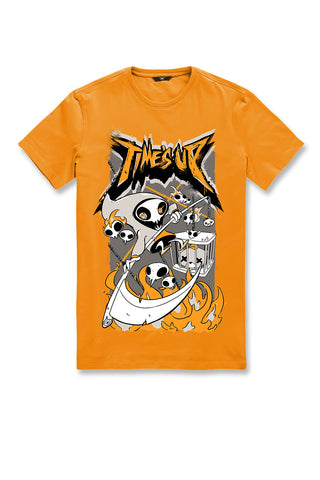 Time's Up T-Shirt (Orange)