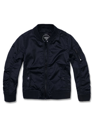 Jordan Craig - Kids Satin Flight Jacket